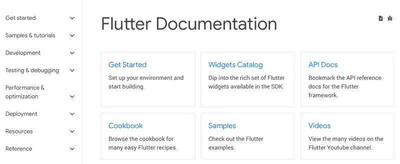 Flutter Documentation Architecture